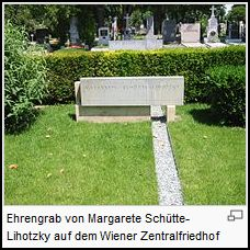 Ehrengrab Schütte Lihotzky