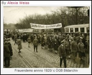 Frauendemo 1920