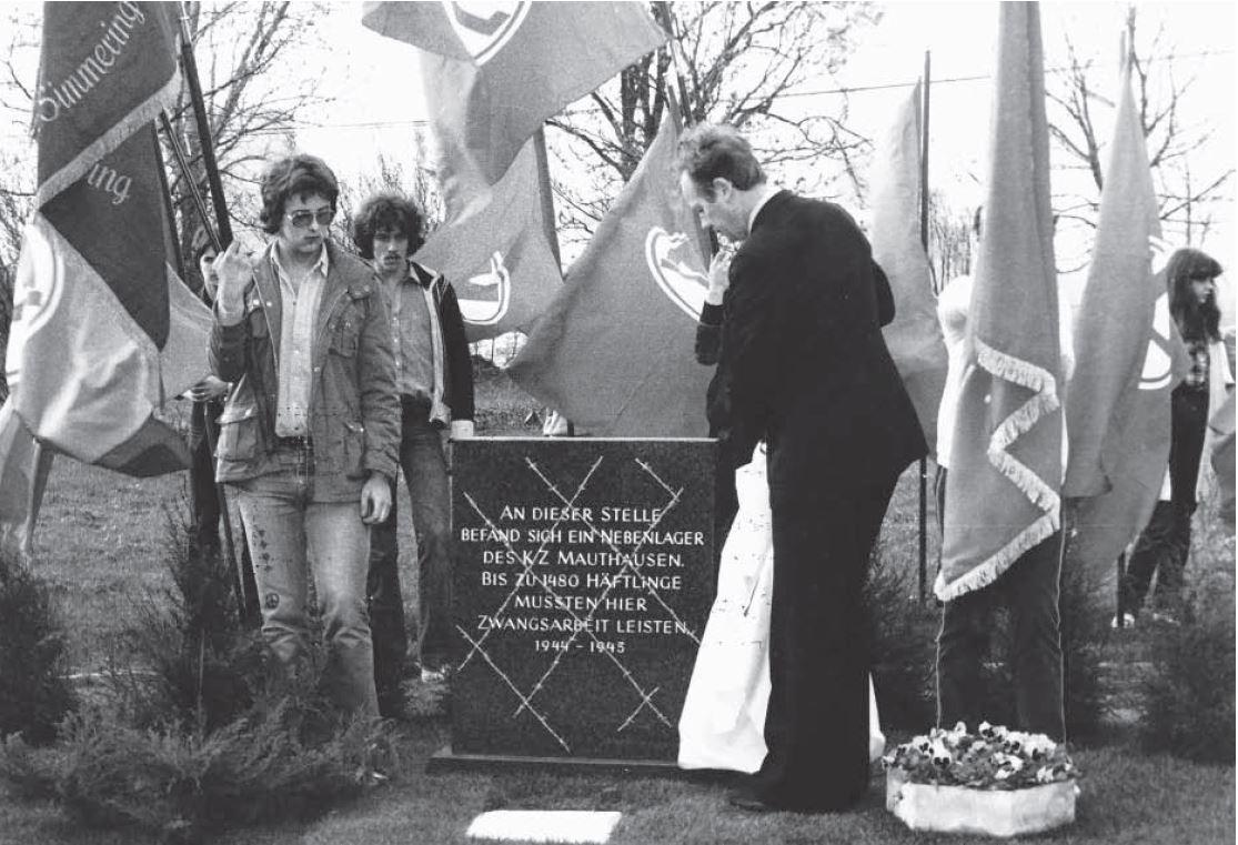 Gedenksteinlegung 1981