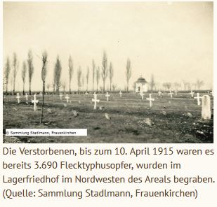 Friedhof - Flecktyphusopfer